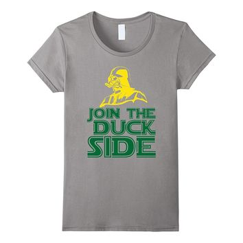 Join The Duck Side T-Shirt Oregon State Fan Tee