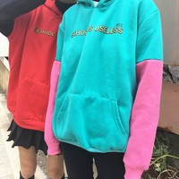 SCHOOL IS USELESS HOODIE