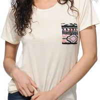 Workshop Madison Ethnic Pocket T-Shirt