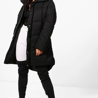 Faye Boutique Funnel Neck Padded Jacket | Boohoo