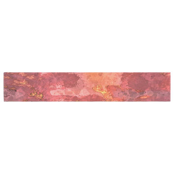 "Oriana Cordero ""Horizon"" Orange Sky Table Runner"
