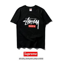 Cheap Women's and men's supreme t shirt for sale 501965868-0111
