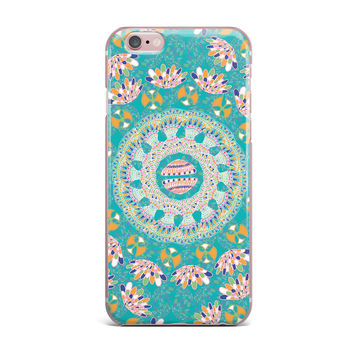 "Miranda Mol ""Luscious"" Blue Pink iPhone Case"
