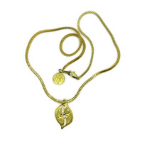 Anne Klein II Pisces Pendant Necklace