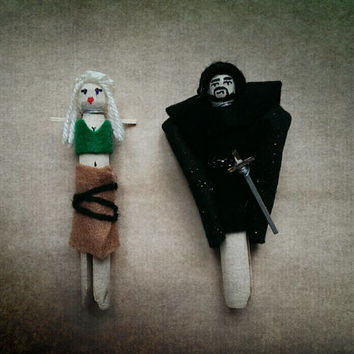 Game of Thrones Inspired Worry Dolls