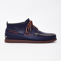 Sperry A/O Wedge Leather Chukka Boot Navy