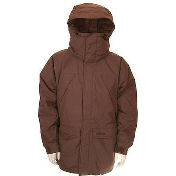 Marmot Mens Parka Down Jacket Yukon Wood 9738X