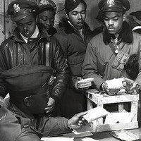 WWII African American Pilots in Italy March 1945 Art Print