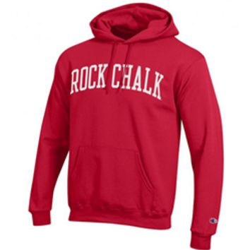 KU Bookstore - Rock Chalk Jayhawk Red Hoodie