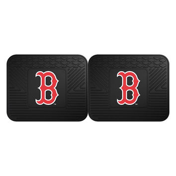 Boston Red Sox MLB Utility Mat (14x17)(2 Pack)