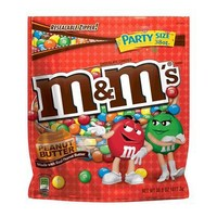 M&M's Peanut Butter Chocolate Candies 38-oz.