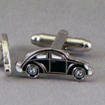 Beetle / Bug Cufflinks - Available in Black or White