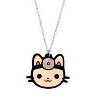 Doctor Cat Necklace - Girls