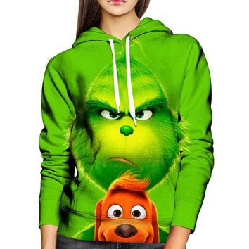 The Grinch Womens Hoodie