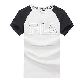 b70b0846d21fe Boys & Men FILA Fashion Casual Shirt Top Tee