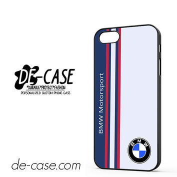 Bmw Motorsport Logo DEAL-1984 Apple Phonecase Cover For Iphone 5 / Iphone 5S