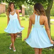 Sweet Summer Romance Dress in Blue