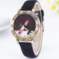 Vintage Airplane Watch with Gift Box