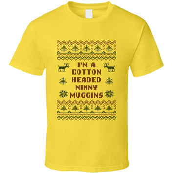 Youth Cotton Headed Ninny Muggins Funny T-Shirt
