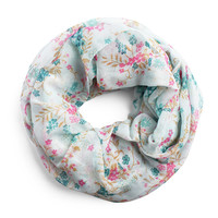 Ditsy Floral Infinity Scarf