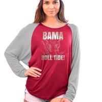 University of Alabama Crimson Tide Dolman Top