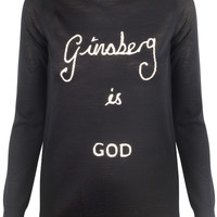 Ginsberg is God Jumper