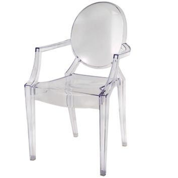 Crystal Baroque Chair