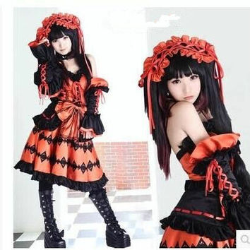 [Commission Request] Kurumi  of  Date a Live!  Cosplay Costume CP153802
