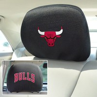 NBA - Chicago Bulls Head Rest Cover 10x13