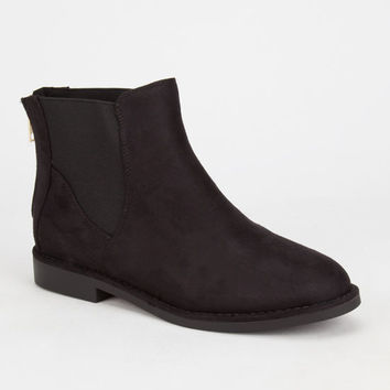 Soda Vermont Womens Boots Black  In Sizes