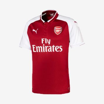 Arsenal 2017-18 Home Jersey