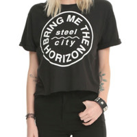Bring Me The Horizon Steel City Crop Top 2XL