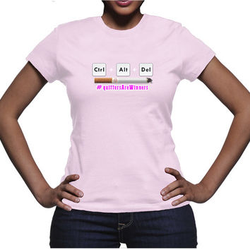 Delete Cigarettes - Ladies T-Shirt