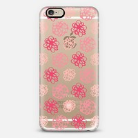 Flower Power - Transparent iPhone 6 case by Whitney Blake | Casetify