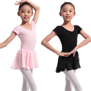 Gymnastics Leotard for Girls Ballet Dress Kids Leotard Tutu Dance Wear Costumes Ballet Leotards for Girl Ballerina Clothes