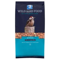 CJ Wildlife Oil Rich Peanuts 1.5Ltr at Ocado
