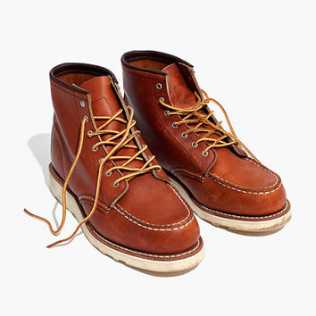 Red Wing® 6-Inch Moc Lace-Up Boots