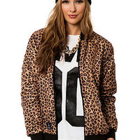 The Leopard Jacket in Black