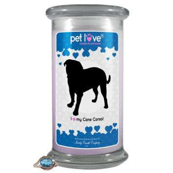 I love my Cane Corso! | Pet Love Candle®