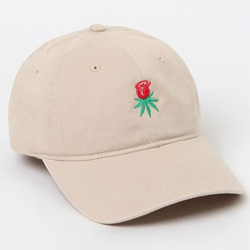 db5904ba897 HUF Rose Bud Strapback Dad Hat at from PacSun