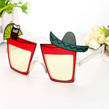 Tequila Shot Costume Glasses