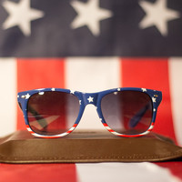 The Stars & Stripes Shades - American Flag Sunglasses