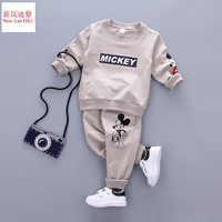 New Spring Autumn New Baby Boys Girls Sport Suit Children Boys Clothing Set Toddler Casual Kids Clothes Tracksuit Sets