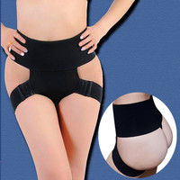 Slim Hip Up High Waist Thighs Tight Bandages Hip Up Pantie = 5893000193