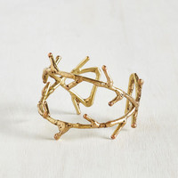 Boho What's the Sprig Idea? Bracelet by ModCloth