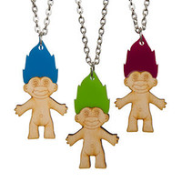 Troll Necklace [] - £14.00 : Sugar & Vice, Laser cut Jewellery, Custom Accessories and Personalised necklaces