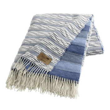 Strato Italian Blanket Blue by Lands Downunder