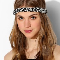 Braided Houndstooth Headwrap - Urban Outfitters