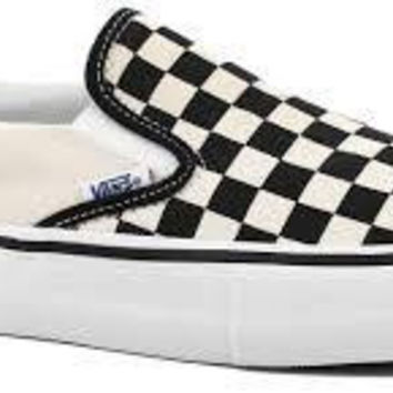 Vans Slip On Pro-(ChkrBrd)Black/Wht
