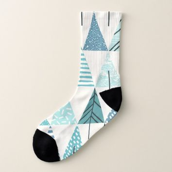 Abstract Pattern Socks